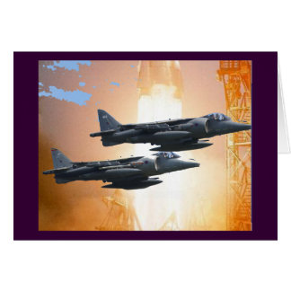 A-6 INTRUDER GREETING CARD