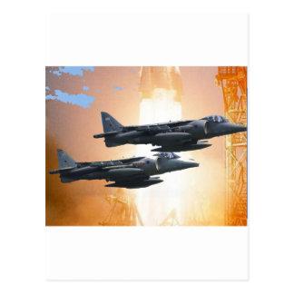 A-6 INTRUDER POSTCARD