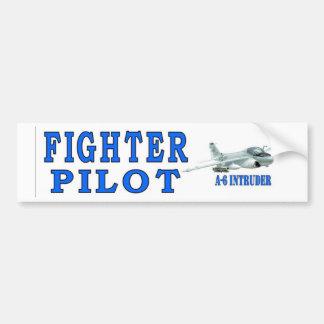 A-6 NTRUDER FIGHTER PILOT BUMPER STICKER