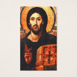 A 6th century icon of Jesus Business Card
