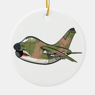 a-7 corsair christmas ornament