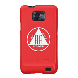 A.A. Logo Samsung Galaxy S Case Sponsor Red Galaxy SII Covers