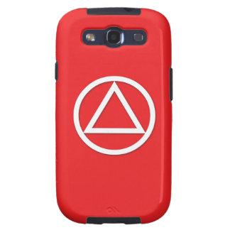 A.A. Symbol Samsung Galaxy S Case Sponsor Red Samsung Galaxy SIII Cases