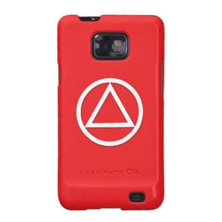 A.A. Symbol Samsung Galaxy S Case Sponsor Red Galaxy S2 Case