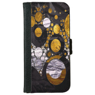 A Abstract iPhone6 Wallet Cases
