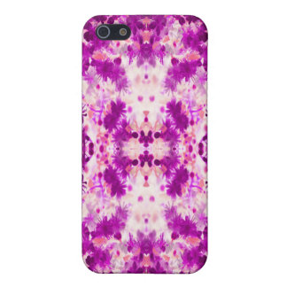 A abstract pink fuchsia pattern. iPhone 5/5S case