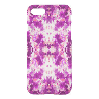 A abstract pink fuchsia pattern. iPhone 7 case