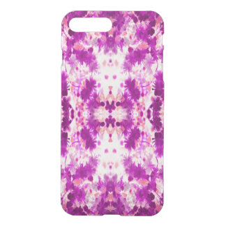 A abstract pink fuchsia pattern. iPhone 7 plus case