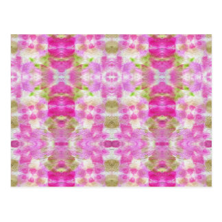 A abstract pink paper grunge watercolor Pattern. Postcard