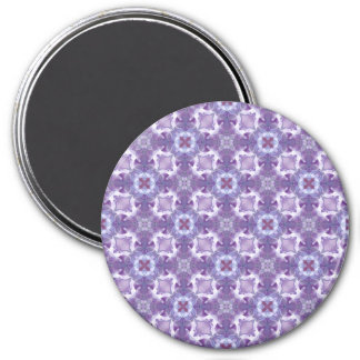 A abstract purple orchids Pattern. Magnet