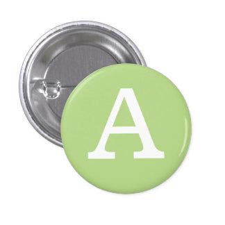 'A' Alphabet Collectible (#1) 3 Cm Round Badge