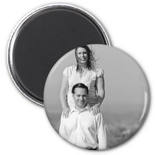A and M Photo 17 Refrigerator Magnet