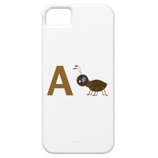 A - Ant iPhone 5 Case