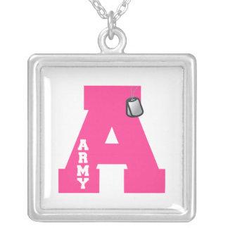 A - Army Custom Necklace