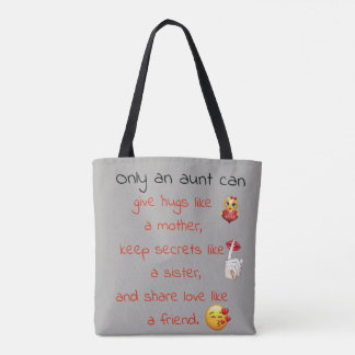 A Aunt Quote Tote Bag
