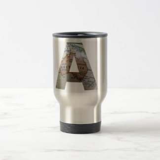 A - Australia Map travel Mug