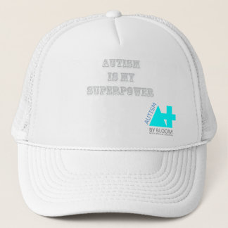 A+ Autism Plus UK White Heaven Cap