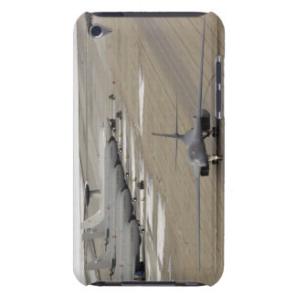 A B-1B Lancer arrives at Eielson Air Force Base iPod Touch Cover