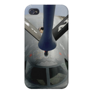 A B-2 Spirit aircraft getting in position iPhone 4/4S Cases