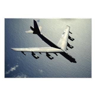 A B-52 Stratofortress in flight 2 Photo Print