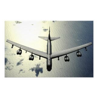A B-52 Stratofortress in flight Photo Print