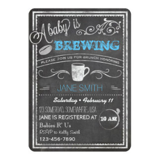 A Baby is Brewing (Boy)! Card