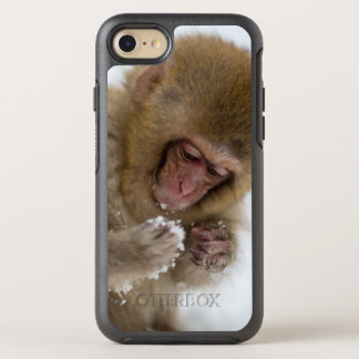 A baby Japanese Macaque (or snow monkey) OtterBox Symmetry iPhone 8/7 Case