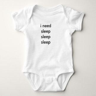 a baby needs sleep sleep sleep baby bodysuit