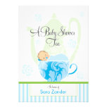 A Baby Shower Tea Party  |  Boy Invites