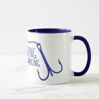A bad day fishing beats a good day working mug