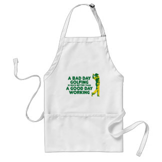 A Bad Day Golfing Standard Apron