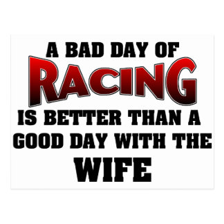 A Bad Day Of Racing... Postcards