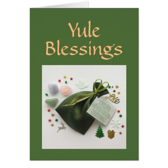 A Bag of Yule Blessings Pagan Wiccan Holiday