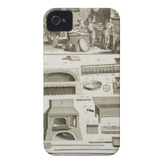 A bakery and baking equipment, from the 'Encyclope iPhone 4 Case-Mate Cases