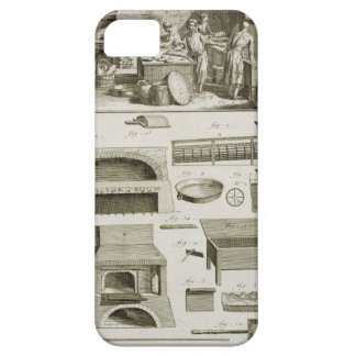 A bakery and baking equipment, from the 'Encyclope iPhone 5 Covers