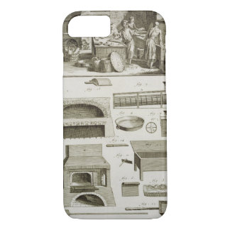 A bakery and baking equipment, from the 'Encyclope iPhone 8/7 Case