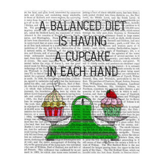 A Balanced Diet Illustration Acrylic Print
