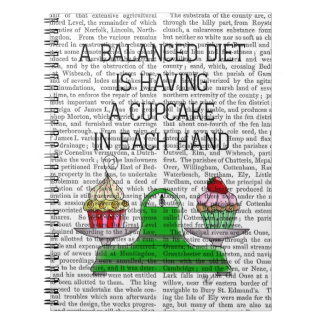 A Balanced Diet Illustration Notebook