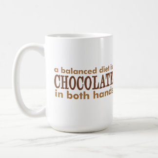 A Balanced Diet is... Coffee Mug