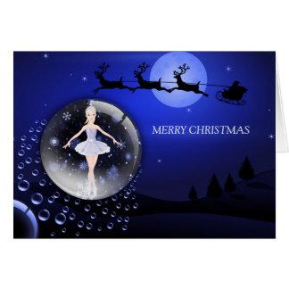 A Ballerina Christmas Card