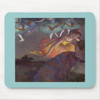 A Ballet Seen From The Opera Box by Edgar Degas Mouse Pad