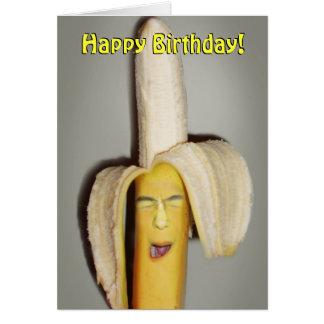 A Banana Splitting Headache Card