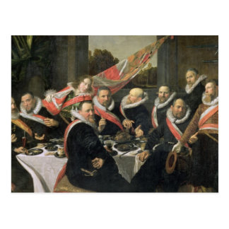 A Banquet of the Officers of the St. George Militi Postcard