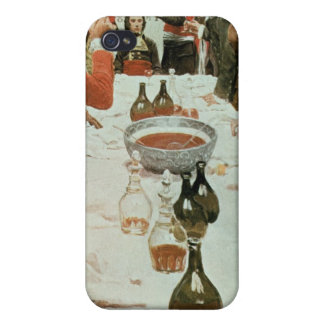 A Banquet to Genet illustration from Washington iPhone 4 Case