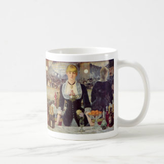 A Bar at the Folies-Bergère - Edouard Manet Coffee Mug