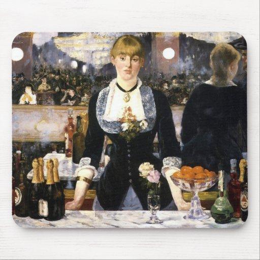 A bar at the Folies-Bergère Mousepad