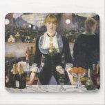 A bar at the Folies-Bergere Mousepads