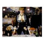 A Bar at the Folies-Bergere Postcards