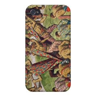 A Barbarian Celebration Cases For iPhone 4