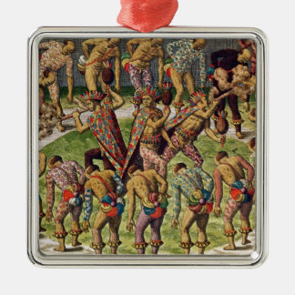 A Barbarian Celebration Christmas Ornament